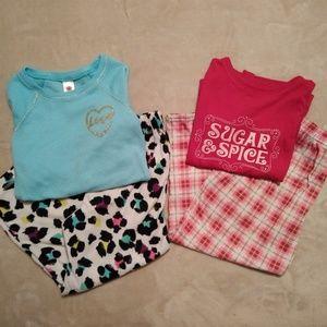 Two pajama sets